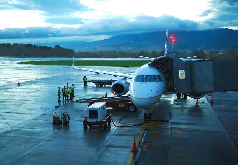 SAN JOSE-COSTA RICA-: Juan Santamara International Airport is the primary airport serving San Jos, the capital of Costa Rica.