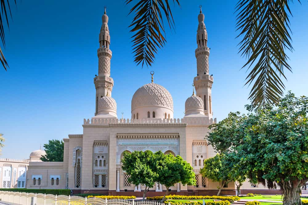 Jumeirah Mosque is a mosque in Dubai City. It is said that it is the most photographed mosque in all of Dubai.