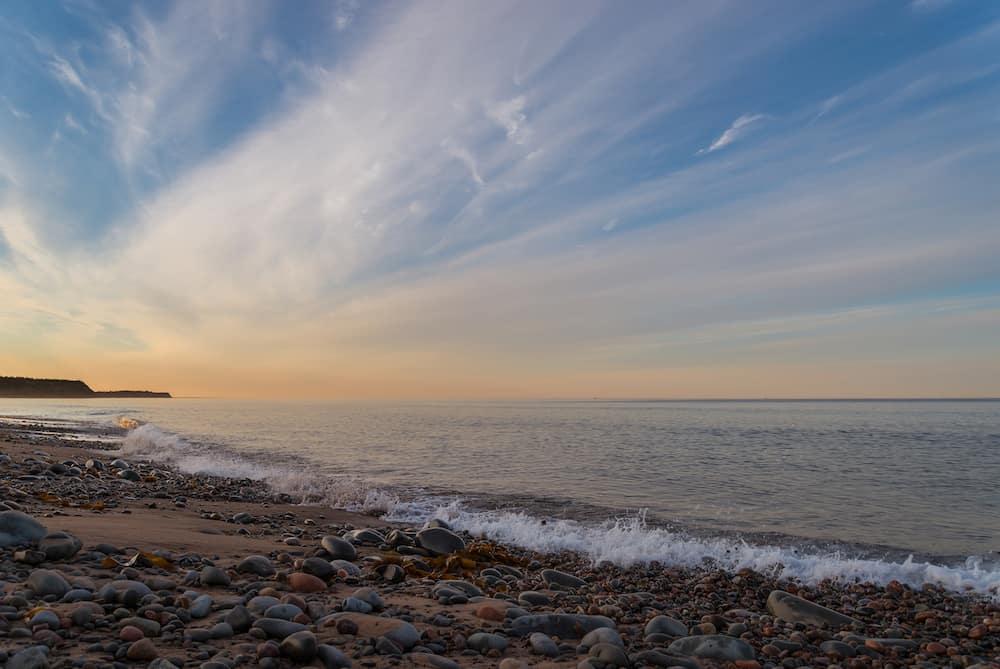 Ocean beach (Lawrencetown Beach Nova Scotia Canada)