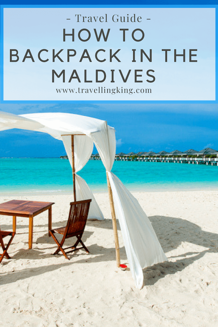How to Backpack in the Maldives
