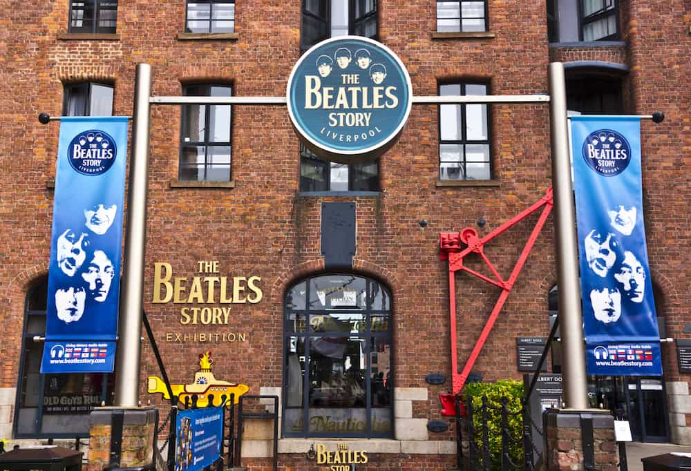 LIVERPOOL, UK -: The Beatles Story is a visitor attraction dedicated to the 1960s rock group The Beatles. in Liverpool, England