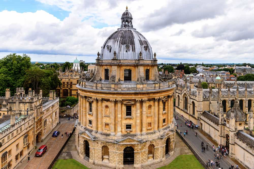 OXFORD ENGLAND - Radcliffe Camera Oxford England. Oxford is known as the home of the University of Oxford