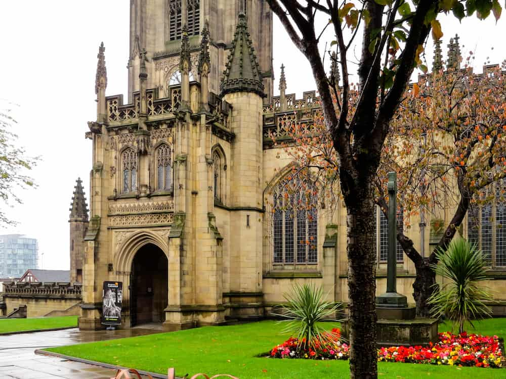 The Cathedral and Collegiate Church of St Mary, St Denys and St George in Manchester, England