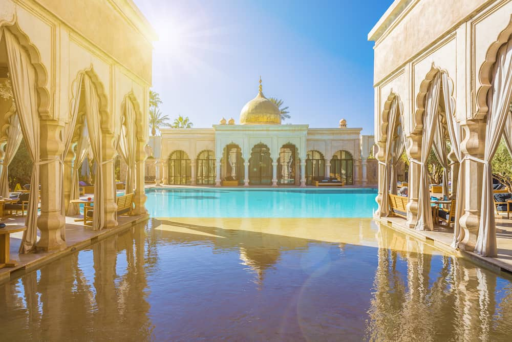 Namaskar palace, Marrakech, Morocco - Namaskar palace, luxury hotel and spa of Marrakech, Morocco