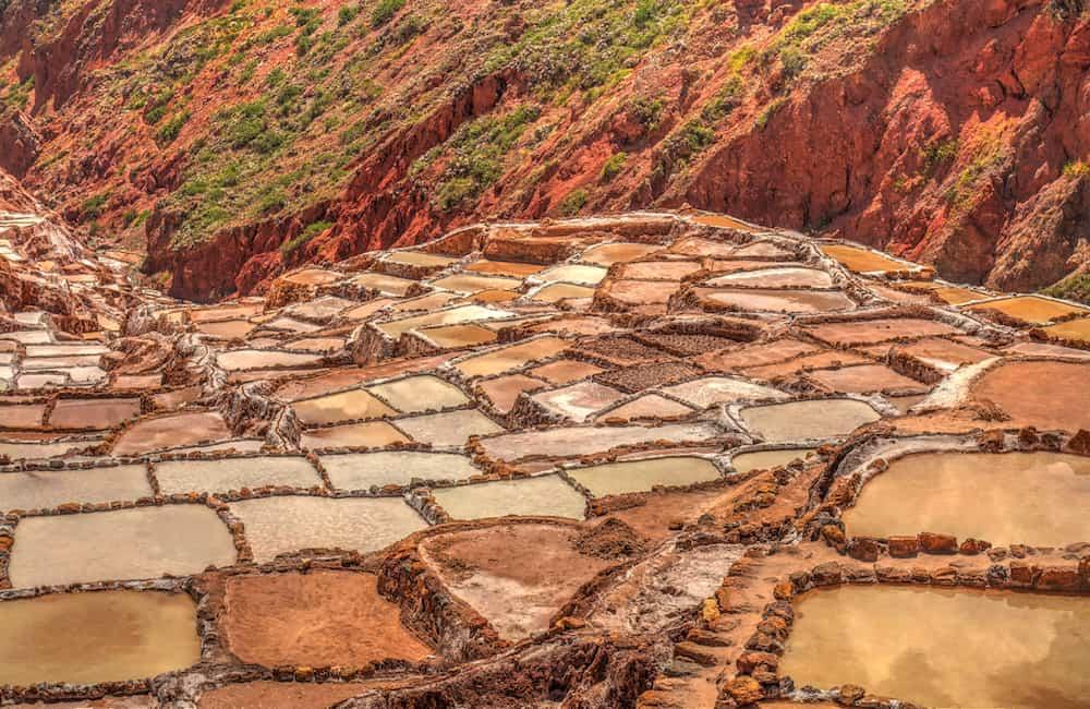 Maras open salt mine, Sacred Valley, Peru