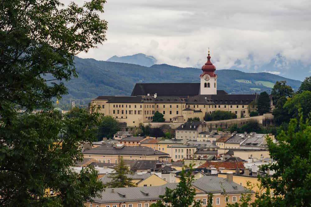 Nonnberg Abbey is a Benedictine monastery in Salzburg Austria
