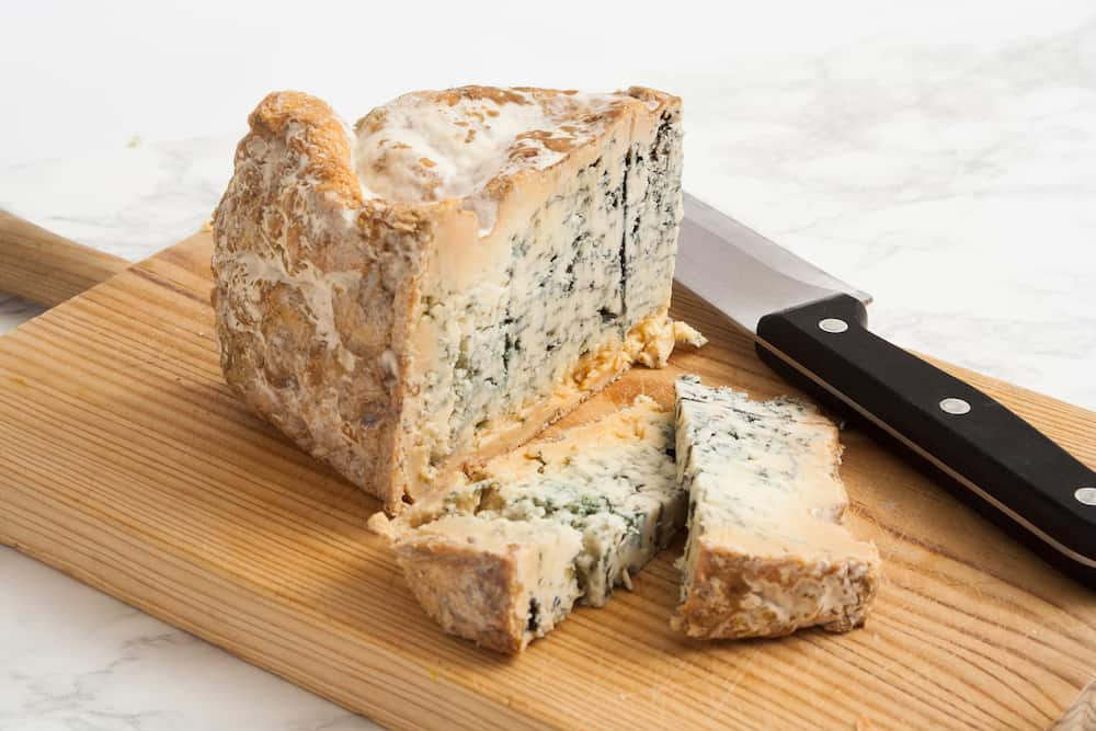 Artisan blue cheese straight from the farm.