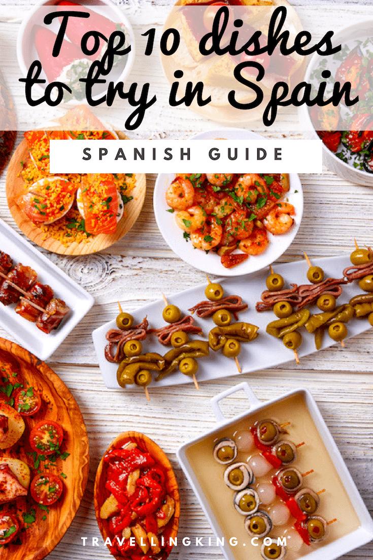 Top 10 foods to eat in Spain