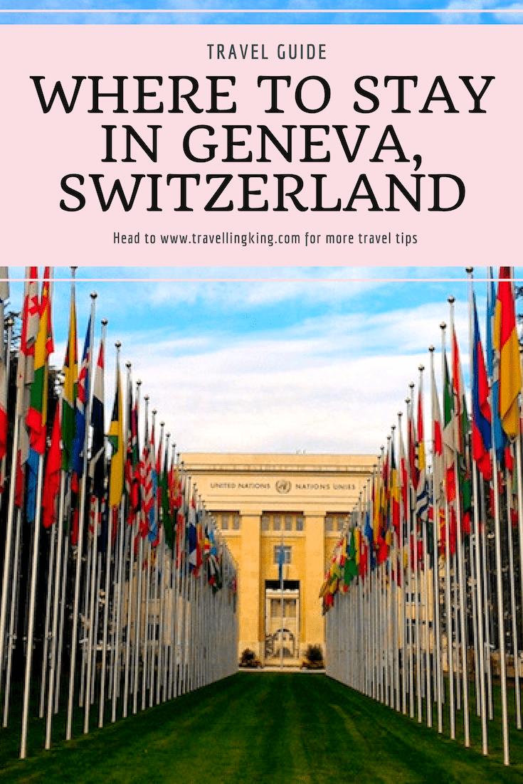 Where to stay in Geneva, Switzerland