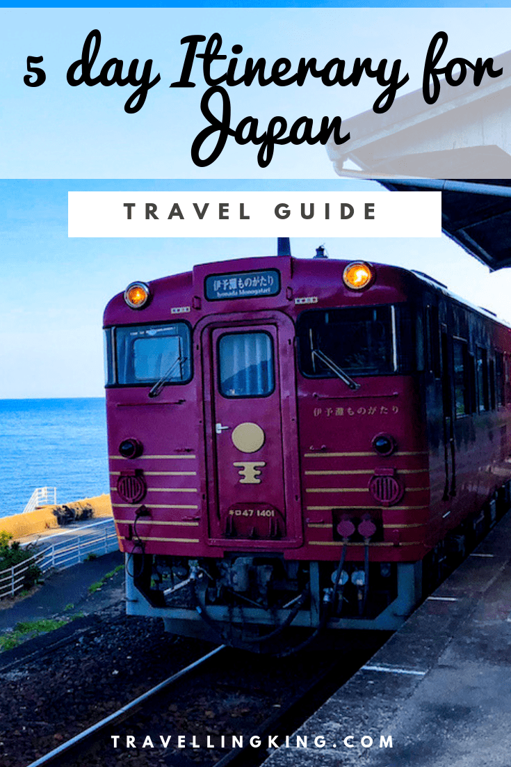 5 day Itinerary for Japan