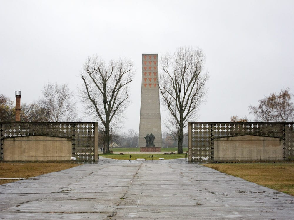 Oranienburg Germany - Sachsenhausen National Memorial in Oranienburg Germany.