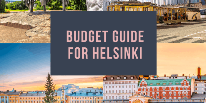 Budget Guide for Helsinki