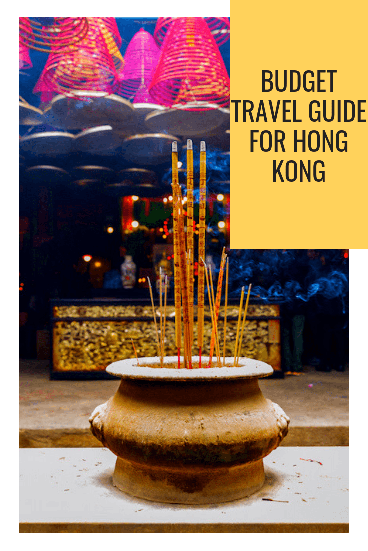 Budget travel guide for Hong Kong
