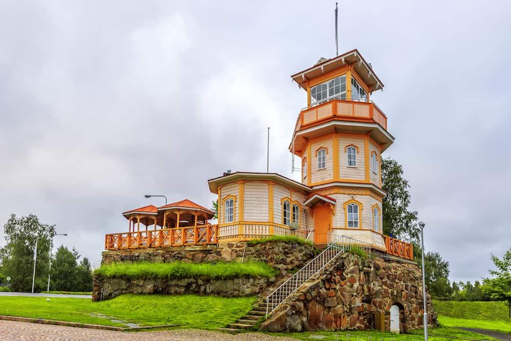 Oulu Castle (Oulun linna) was a late defense castle in Oulu Finland. It was built on an island in the delta of Oulu River in 1590.