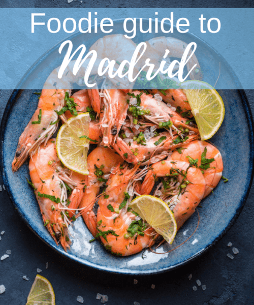 Foodie guide to Madrid
