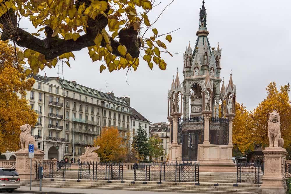 Brunswick Monument and Mausoleum in Geneva, Switzerland