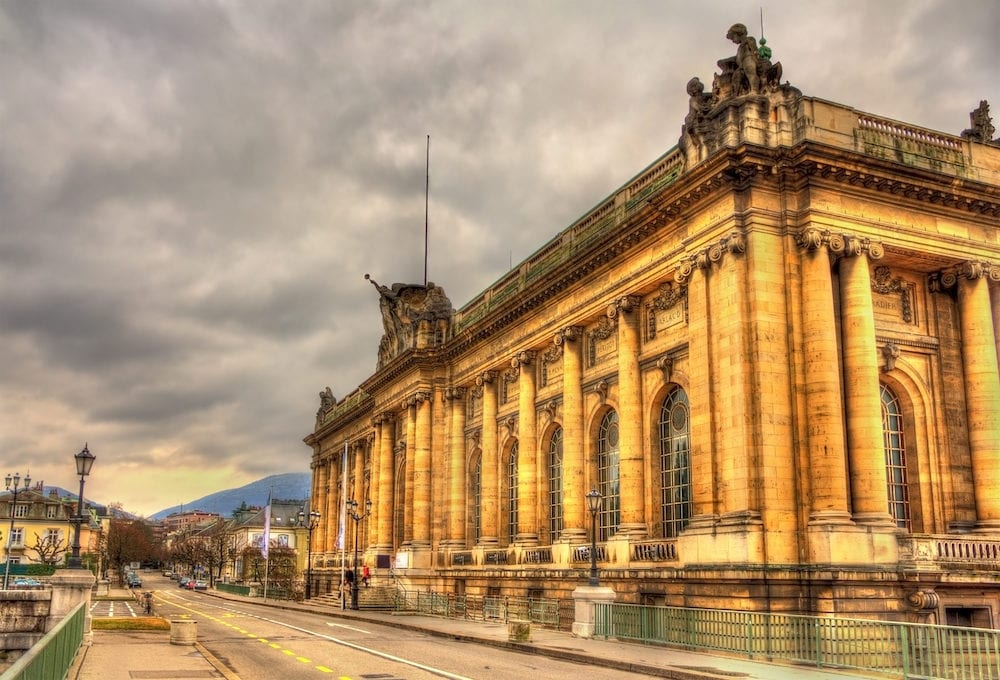 Musee d'Art et d'Histoire in Geneva Switzerland
