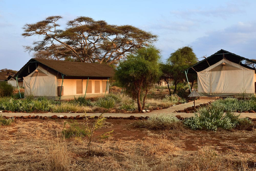 Amboseli Kenya - Accommodation units in Sentrim Amboseli Tented Camp Luxury Lodge one from the most popular place to stay during safari