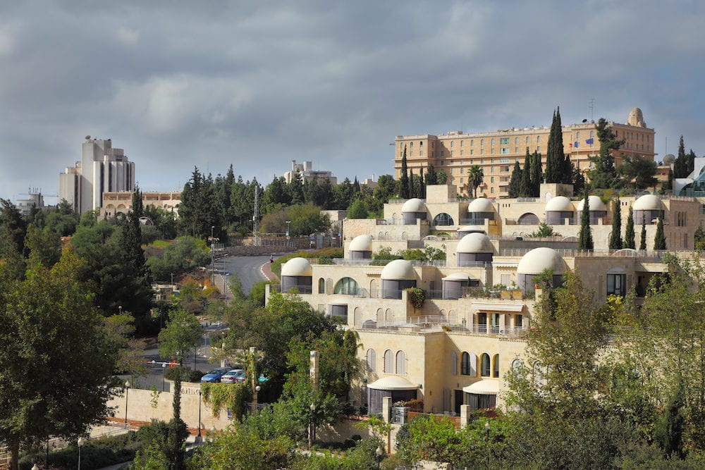The capital of Israel - Jerusalem. Famous, luxurious and very expensive hotel King David.