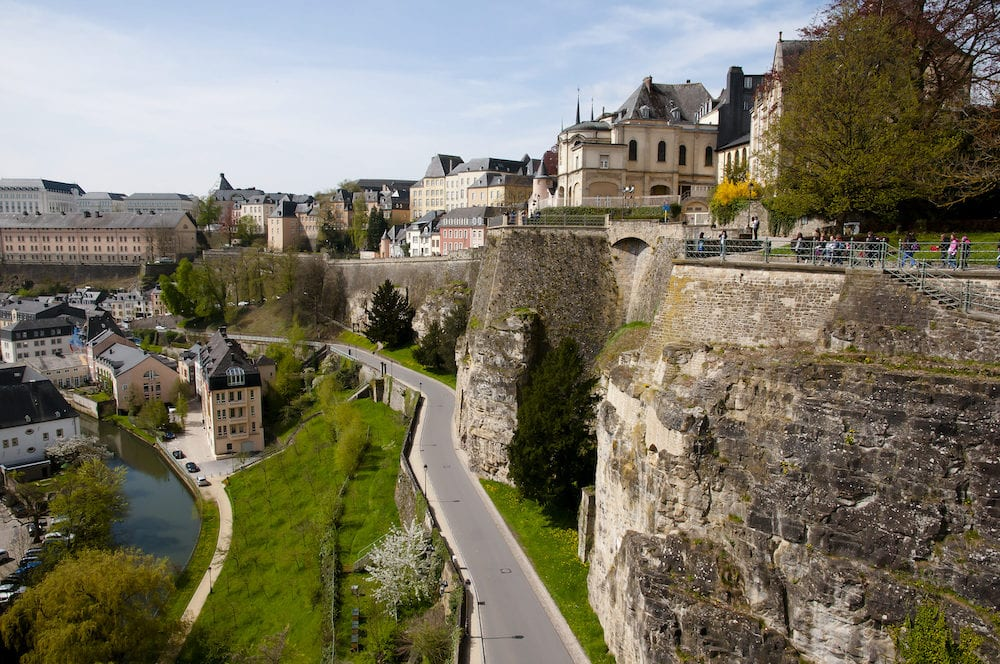 Historic Bock Casemates Tunnels - Luxembourg City