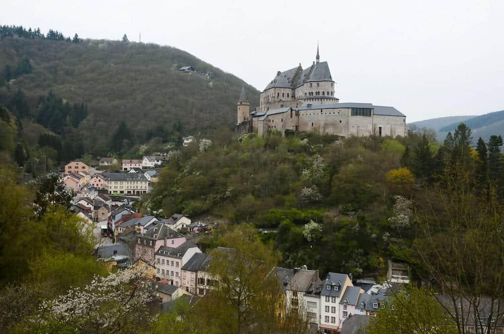 Romanesque 10th Century Castle of Vianden - Luxembourg