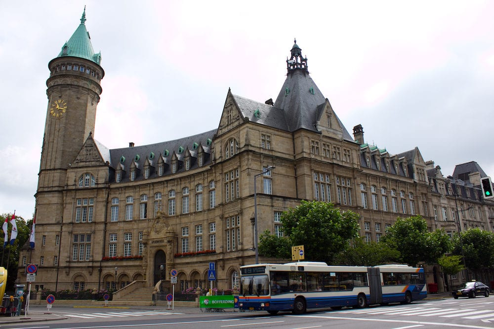 Luxembourg city, : European Coal and Steel Community (ECSC) High Authority Former Building