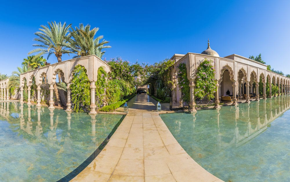 Namaskar palace, Marrakech, Morocco - Namaskar palace, luxury hotel and spa of Marrakech, Morocco