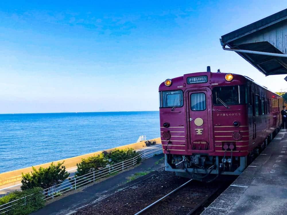 Monogatari Sightseeing train