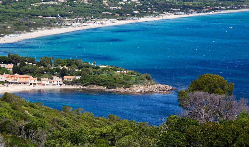 Pampelonne Beach near Saint Tropez