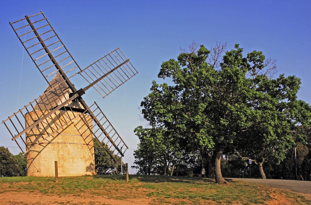 paillas windmill of ramatuelle near saint tropez on the french riviera