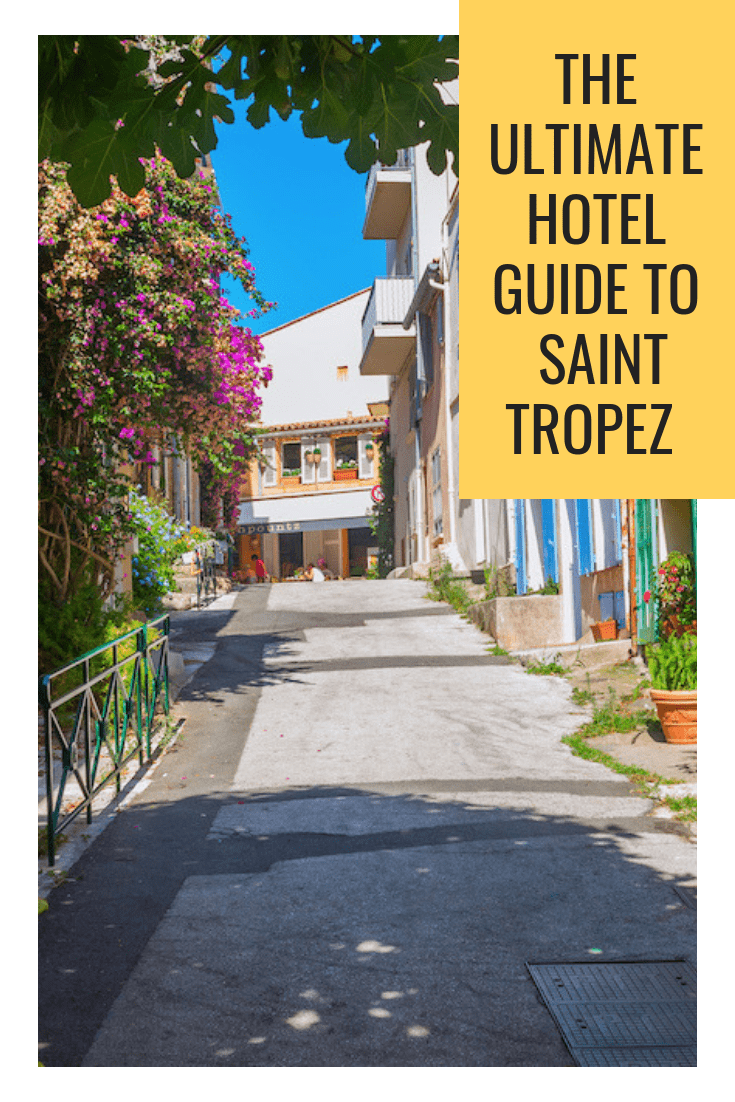 Where to stay in Saint Tropez