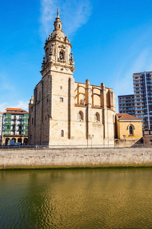Church of Saint Anthony or Iglesia de San Anton is a Catholic church located in the Old Town of Bilbao, Basque Country in northern Spain