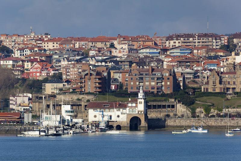 Port of Getxo Bizkaia Basque Country Spain