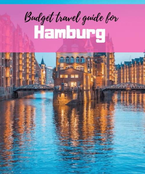 Budget Guide for Hamburg