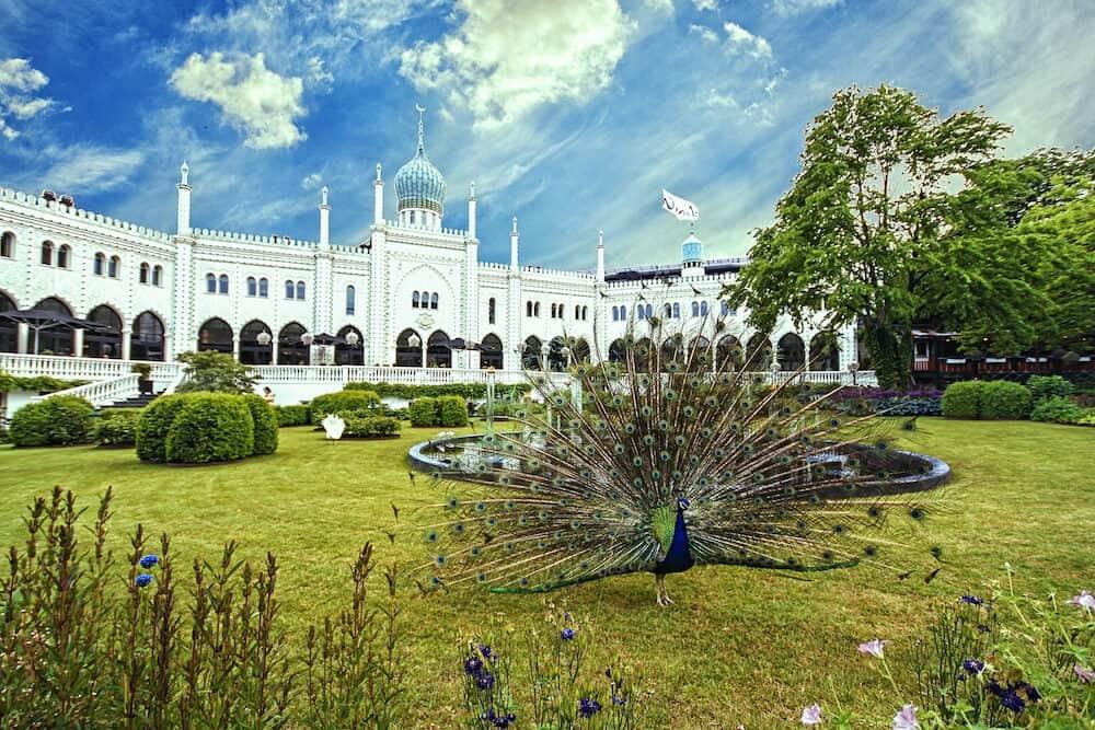 Moorish Palace in Tivoli Gardens Copenhagen Denmark