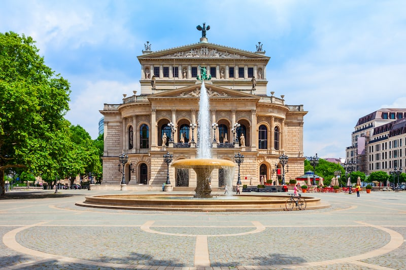 Old Opera or Alte Oper is the original opera house in Frankfurt am Main, Germany