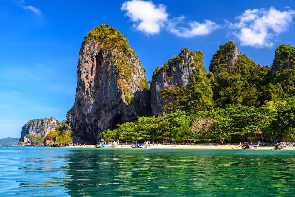 Ao Phra Nang Beach, Ao Nang, Krabi Thailand