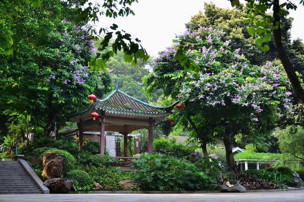 Yuexiu Park in Guangzhou, Guangdong Sheng China