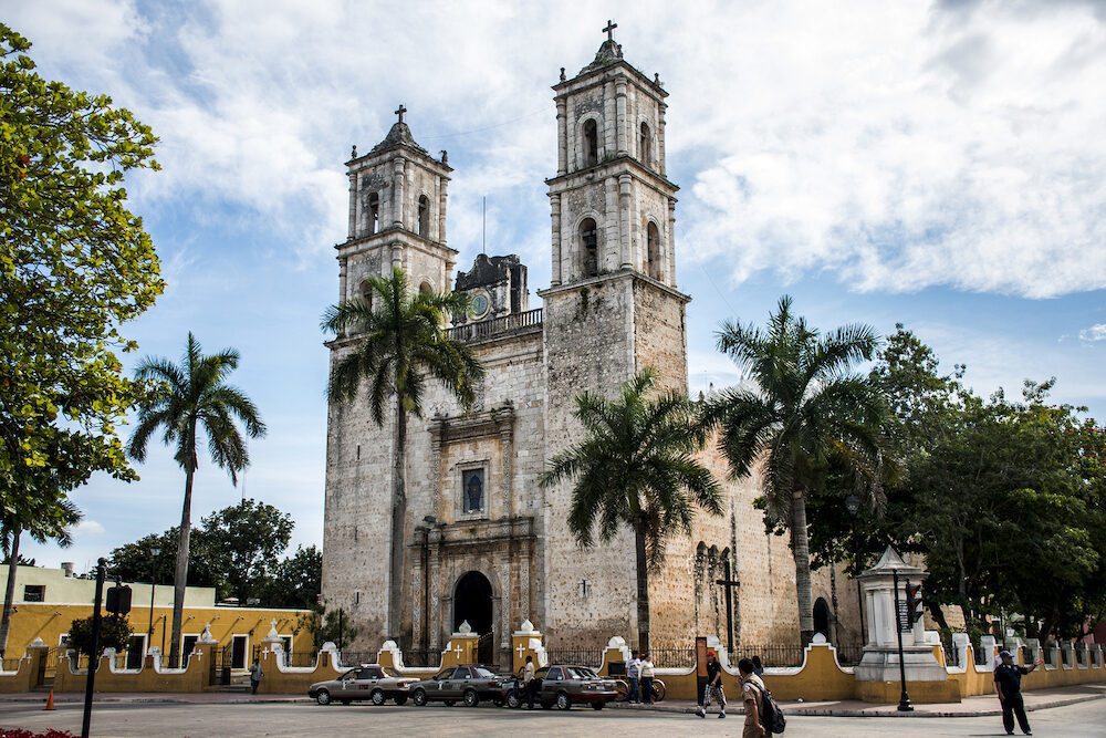 first Roman Catholic church in the Mexican Yucatan