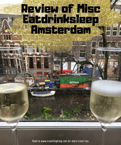 Review of Misc Eatdrinksleep Amsterdam