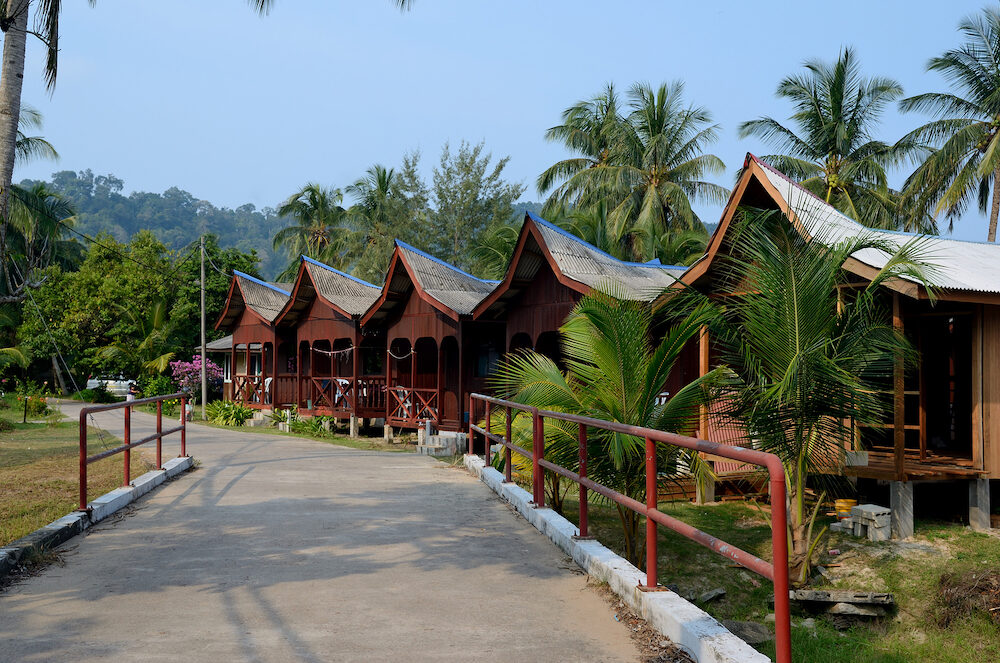 Juara Beach on the island of Tioman, Malaysia