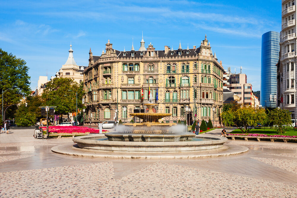 Chavarri Palace or Palacio Chavarri is a building around the Moyua Square in Bilbao, Basque Country in northern Spain