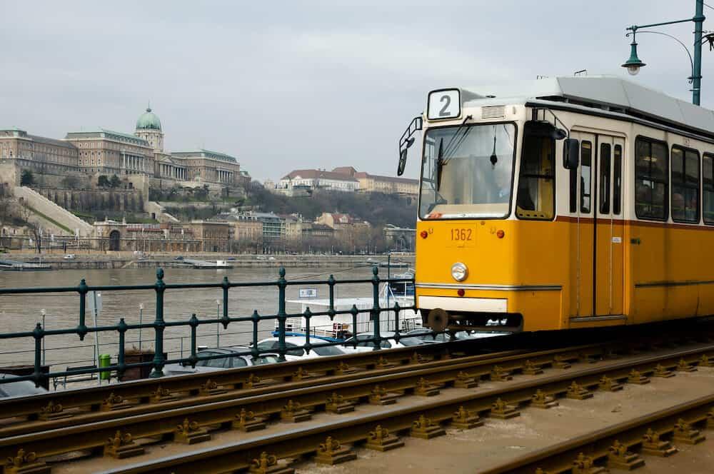 Tram Cart - Budapest City - Hungary
