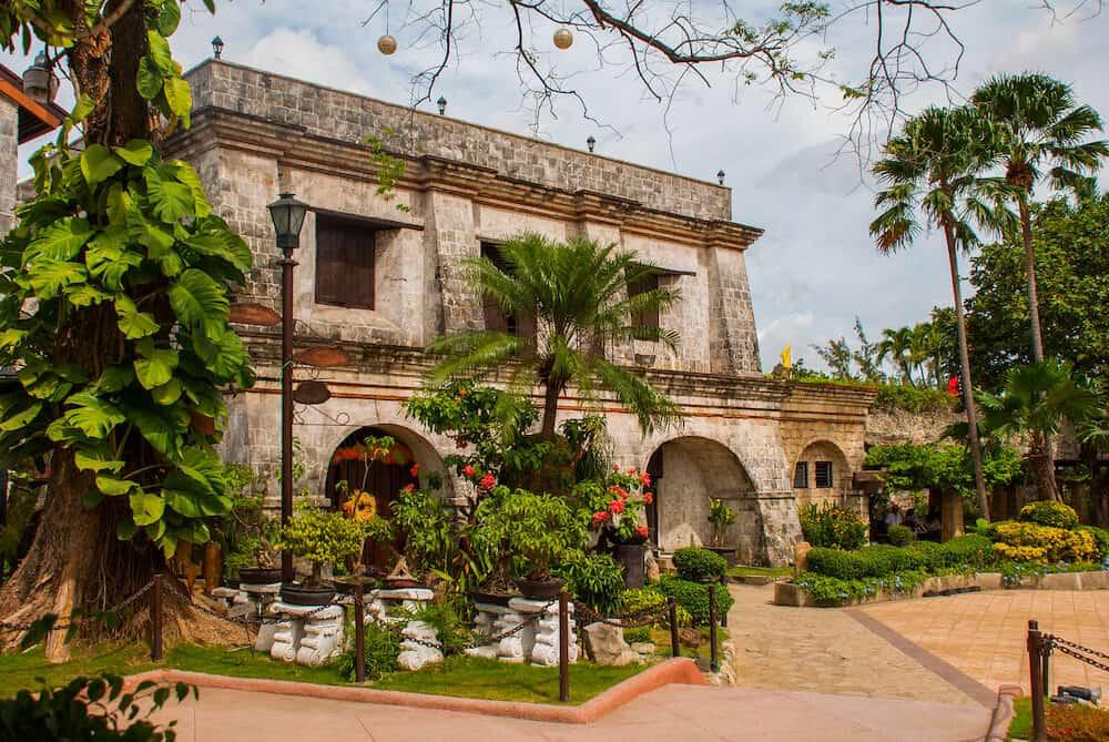 Old Fort San Pedro in Cebu Philippines