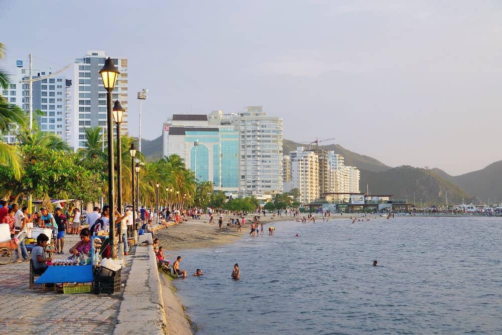 SANTA MARTA, COLOMBIA, Marina of Santa Marta Resort, Maddalena County, Colombia, South America