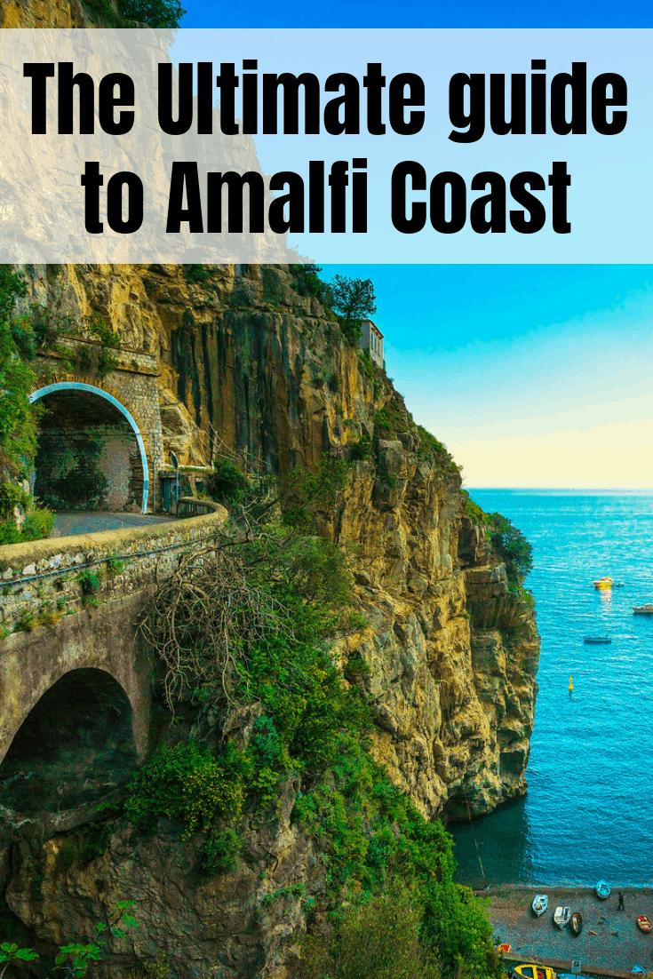 The Ultimate guide to Amalfi Coast