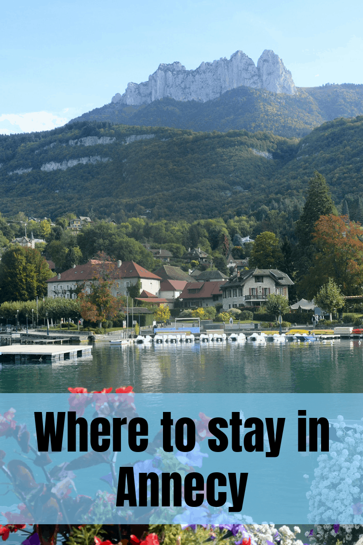 Where to stay in Annecy