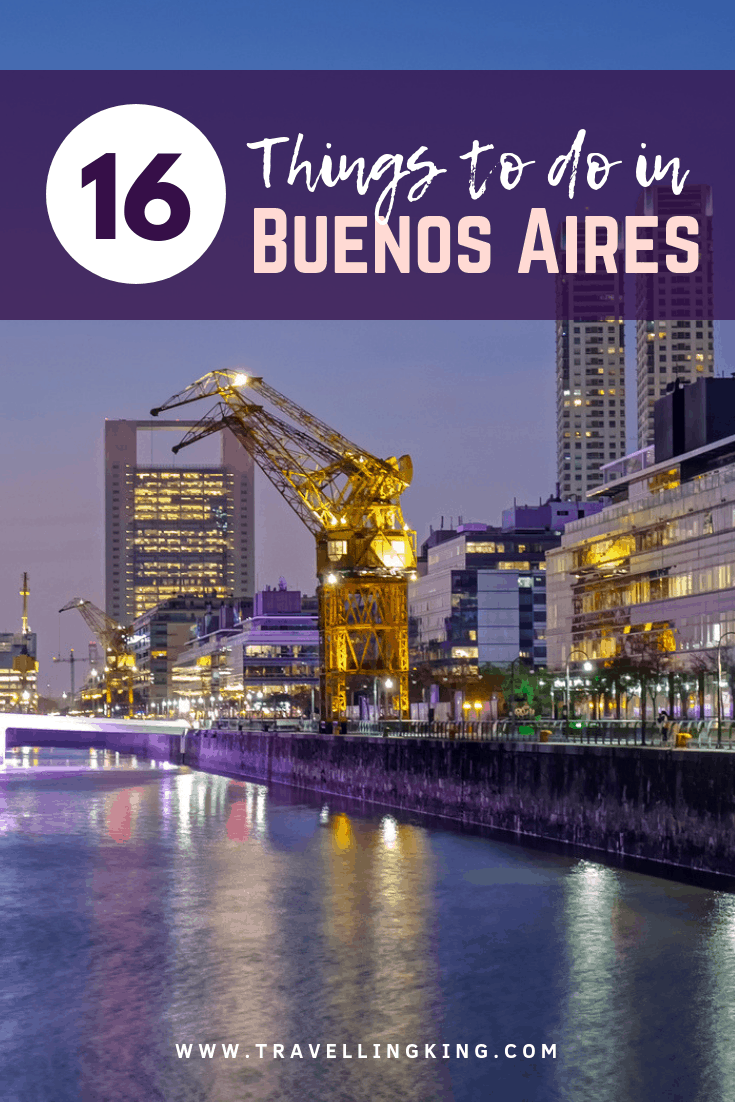 16 Things to do in Buenos Aires