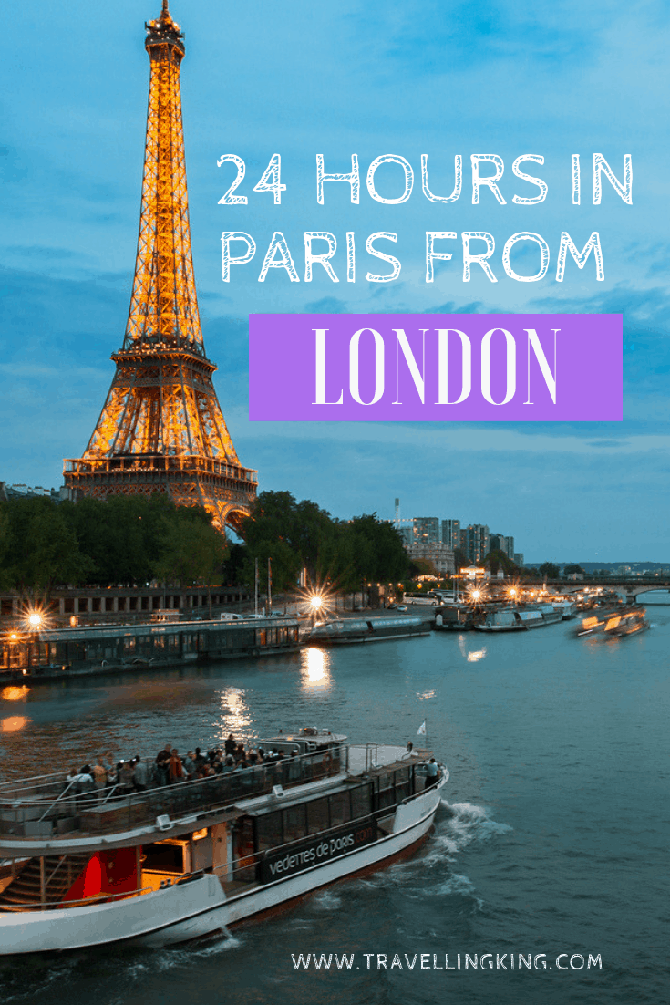 24 hours in Paris from London