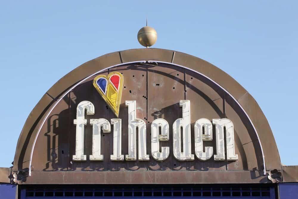 Aarhus, Denmark - Tivoli Friheden is an amusement park located in Aarhus, Denmark